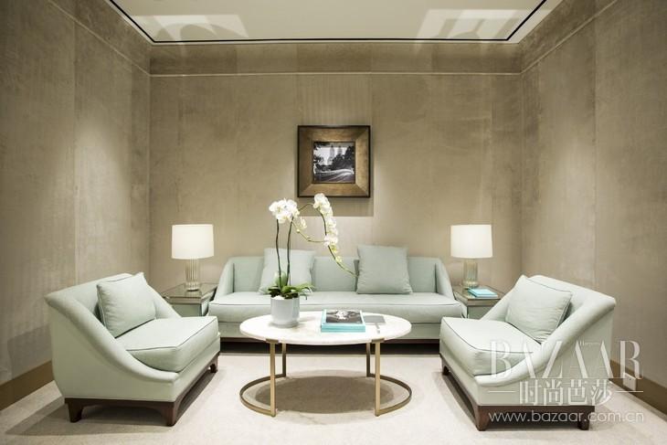 独立贵宾室尽显蒂芙尼优雅传承