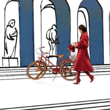 FENDI品牌大使娜扎开启罗马-上海时尚之旅