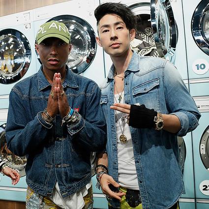 G-Star RAW联合Pharrell Williams,为您带来独出心裁的产品系列