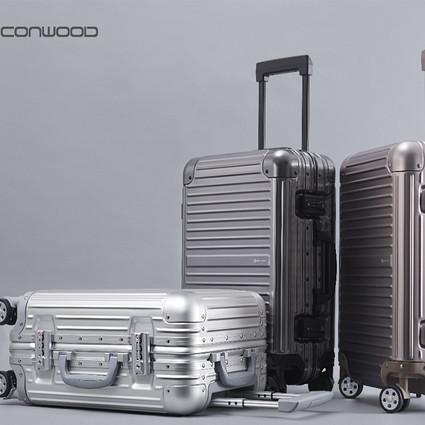 CONWOOD首款铝镁合金旅行箱IRONM唯精心可动人