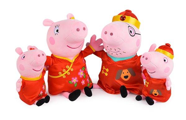 小猪佩奇新春全家福