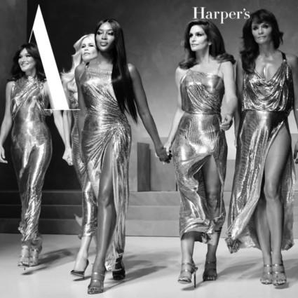 """五位超模""""天神""""降临,Gianni Versace回来了!"""