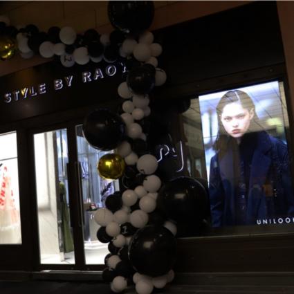 RY(饶轶)和独立杂志《UNILOOK》重新定义STYLE BY RAOYI创意集合店