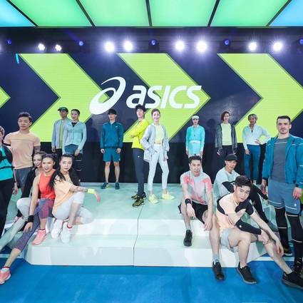 ASICS亚瑟士携手江疏影李治廷开启「动出 我世界」品牌活动