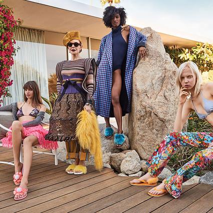 UGG®揭开趣味时尚的2018春夏系列面纱, 尽情诠释加州精神
