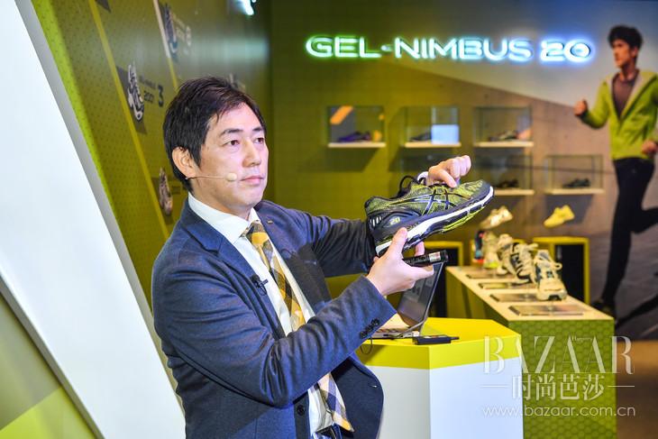 亚瑟士人体工学研究所所长原野健一莅临讲解GEL-NIMBUS系列