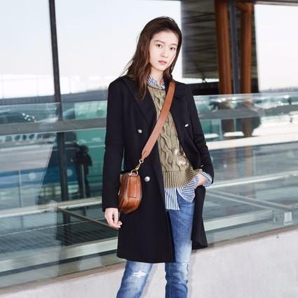 张雪迎受邀出席 Ralph Lauren 2018春季系列时装秀
