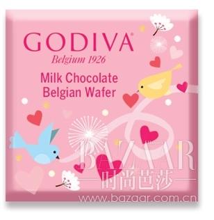 片装谷物脆牛奶巧克力制品