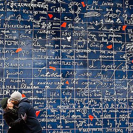 巴黎爱墙PK土味情话,VENTI爱的记忆走红原因