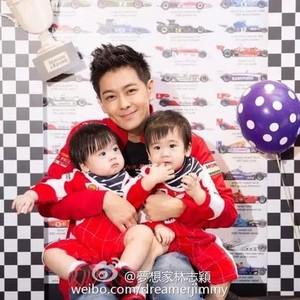 林志颖双胞胎儿子上热搜,这一家五口的幸福童话让人超羡慕!