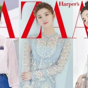娜扎马思纯最近都爱穿的长袖连衣裙,除了防晒竟然还能显瘦!
