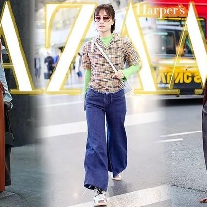 吴昕街拍被一件荧光绿衬衫打回解放前,她是这么回应的……