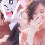 刘诗诗兔耳朵真没什么可看的,因为被她的西柚妆吸走了眼球!