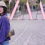 学刘雯走最美的樱花路,化最嫩的樱花妆!