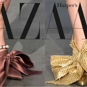 林允鞋子上的蝴蝶结真好看! 仙女除了会化妆,还得会穿鞋啊!