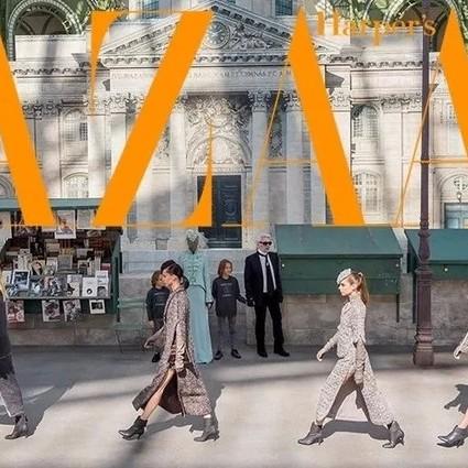 塞纳河倒映的Chanel高定,流淌的是左岸的旧时光