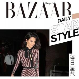 """胸前开道口子?Kendall穿连衣裙这么""""狠""""呐!【每日星范】"""