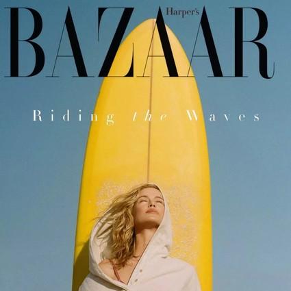 在时尚圈,比靠在泳池喝汽水更时髦的事是去冲浪
