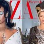 蕾哈娜和碧昂斯1V1互尬?PK完音乐PK妆容,戏很足!