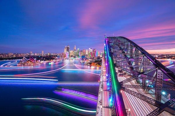 2018年缤纷悉尼灯光音乐节最后一晚即将到来