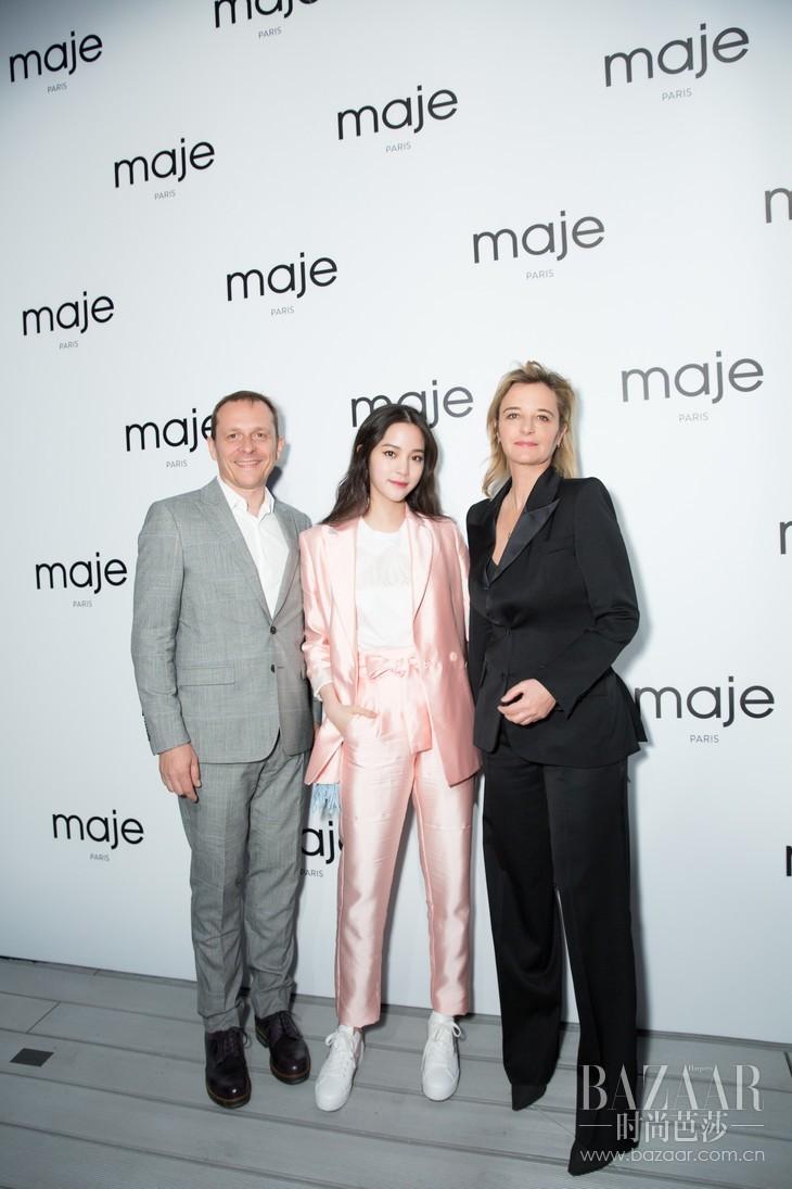 (从左至右)SMCP集团亚太区CEO Ste