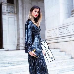 纽约时装周NAERSILING中美LADY秀出高衣品