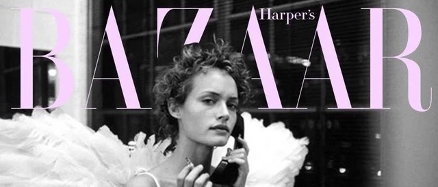 现在才知道,90年代的芭莎捧红了多少超模和摄影师