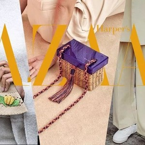 """听说今夏最流行的手袋是""""编""""出来的,这让我很好奇了!"""