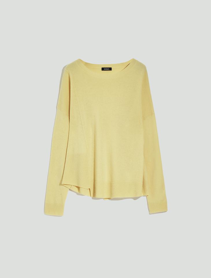 MAX&Co.黄色毛衣