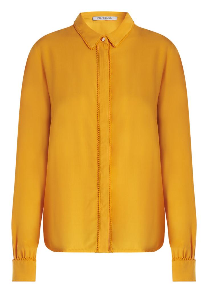 PENNYBLACK橙色衬衫