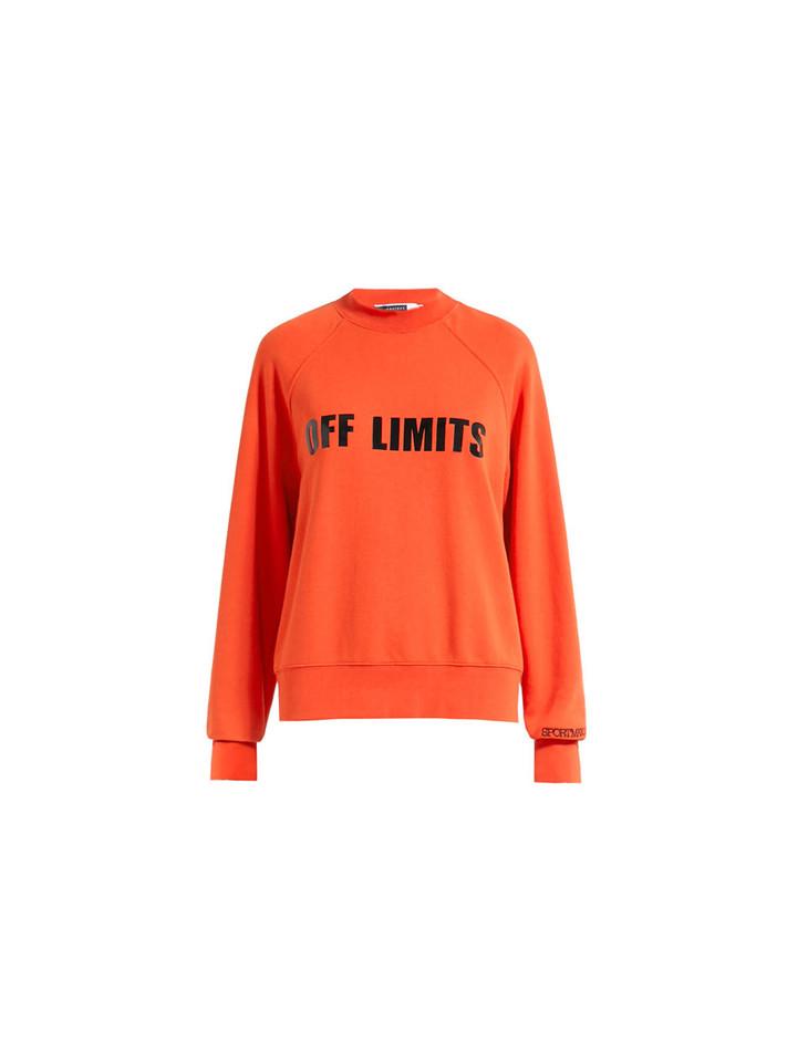 SPORTMAX橙色卫衣