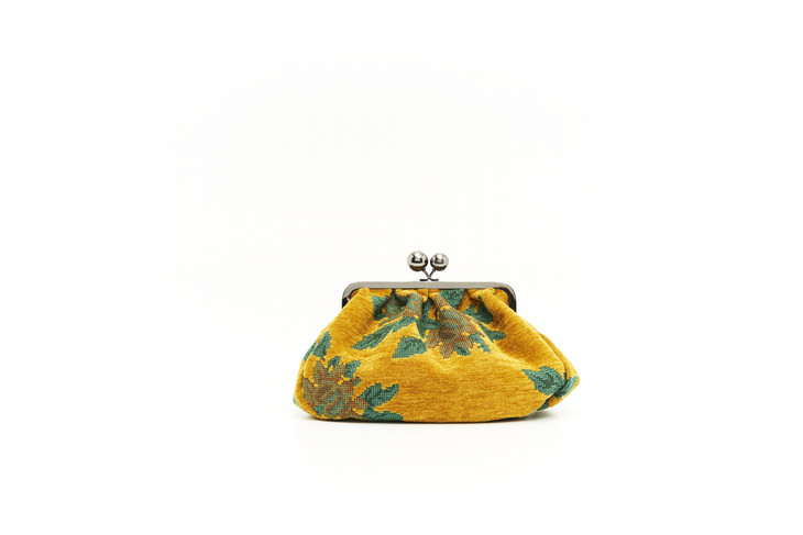 Weekend Max Mara 黄色装饰手袋