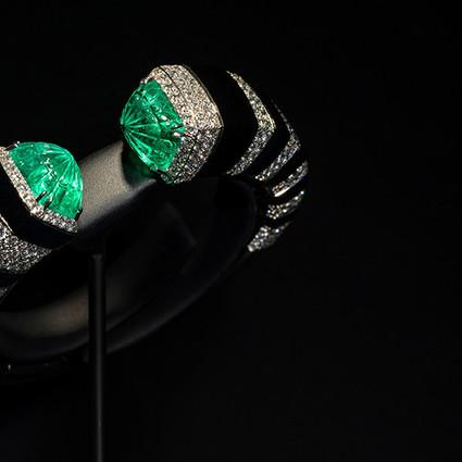 卡地亚全新COLORATURA高级珠宝展登陆北京