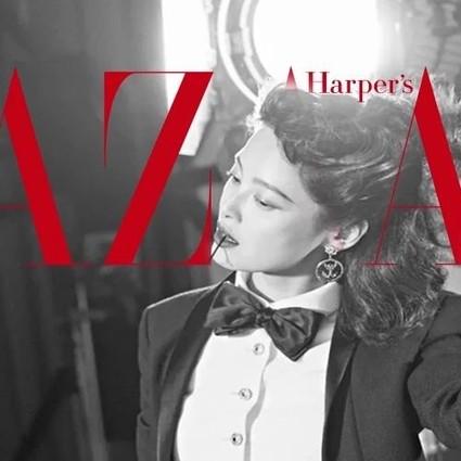 BazaarVPop| 《如懿传》嘉妃下线,辛芷蕾的才华可比野心强多了!