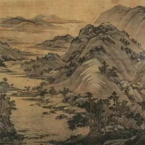 他是中国最杰出的僧人画家,五代四大家之一,开创了山水画的又一流派!