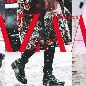 新年带你潇洒大步走,酷女孩的冬日马丁靴!