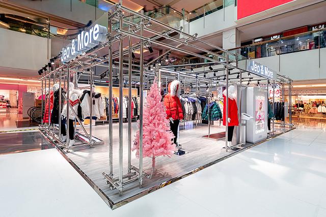 Jeo & More首家全新形象店,耀目登陆北京国瑞城