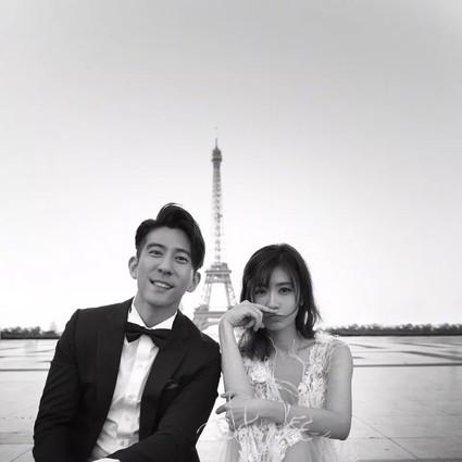 贾静雯修杰楷补办婚礼,遇见对的人下一站就是幸福!