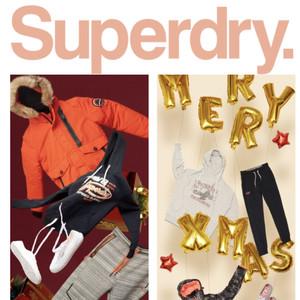 @所有人,你的圣诞礼物还在Superdry摆着
