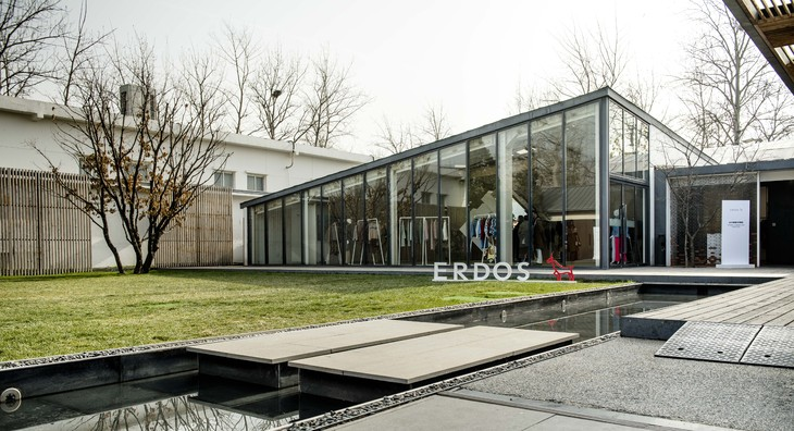 ERDOS 2019春夏新品预览会-外部