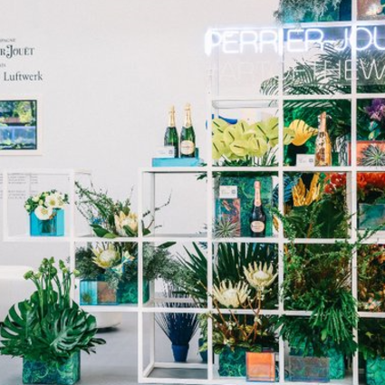 """巴黎之花""""自然新藝境""""亮相上海西岸藝術與設計博覽會"""