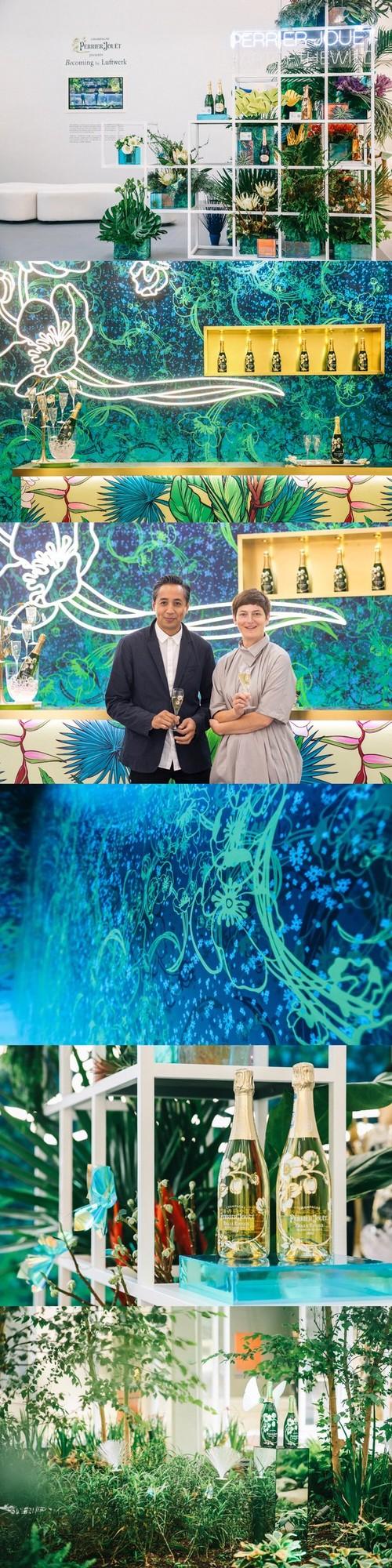 """巴黎之花""""自然新艺境""""亮相上海西岸艺术与设计博览会"""