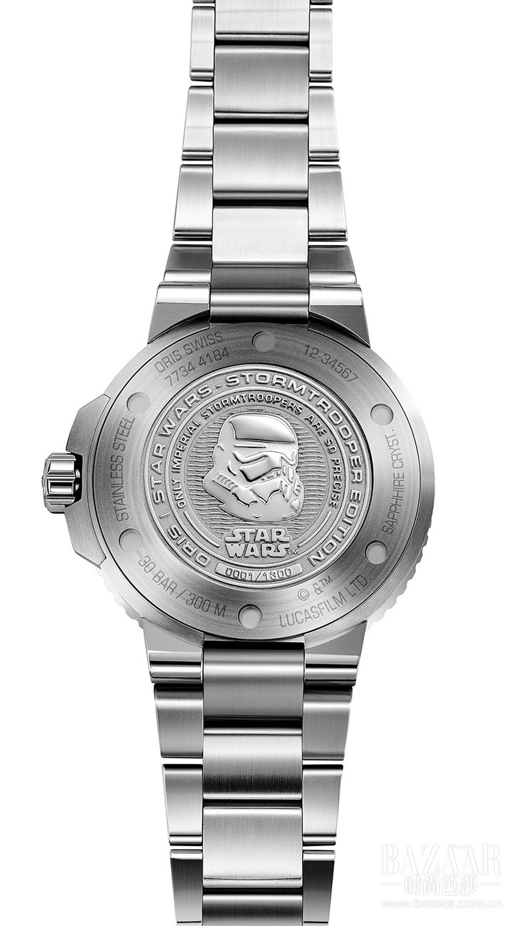 Oris Star Wars Stormtrooper Limited Edition-背面