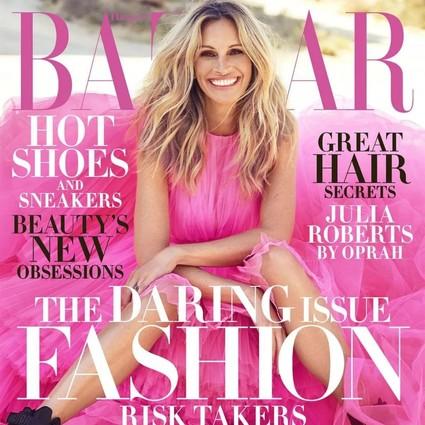 美国版BAZAAR十一月刊Julia Roberts登封;英国版专题报道2018秋冬高定