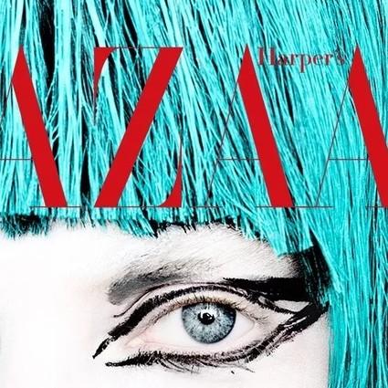 被LV、Marc Jacobs宠爱的插画艺术家,这次来教BAZAAR的爱美女生化妆了!