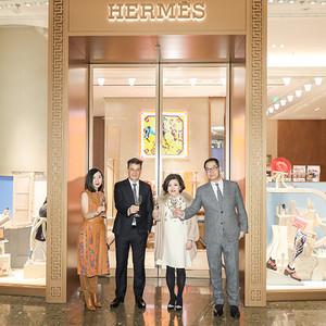 爱马仕上海国际金融中心专卖店 焕新开幕及推出特别款产品
