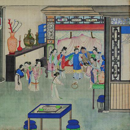 典藏版艺术电子刊首发,中国绘画12种颜色领略极致东方之美