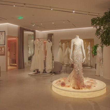 Pronovias亚洲首家旗舰店沪上开业 Pronovias加速品牌国际布局,并将首家旗舰店选址上海恒隆广场。