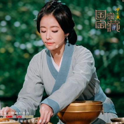 鹿晗变江南才子,林心如成美厨娘,《国家宝藏》连餐具都灿若星河!