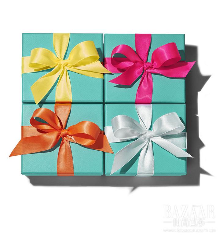 蒂芙尼蓝色礼盒